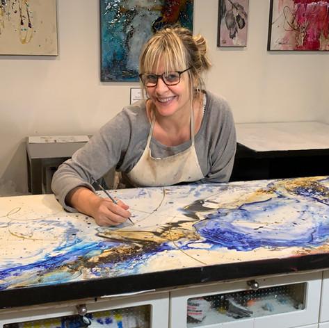 Artist Sophia Paleotheodoros