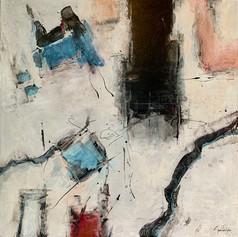 """Party Girl 48"""" x 48"""""""