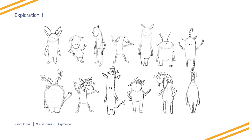 Visual Thesis Character Exploration