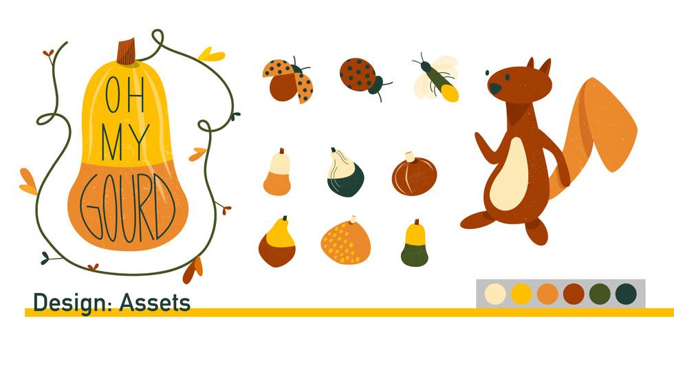 Gourd Design Assets