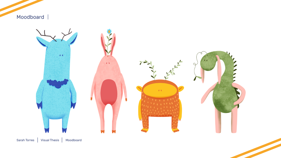 Visual Thesis Characters