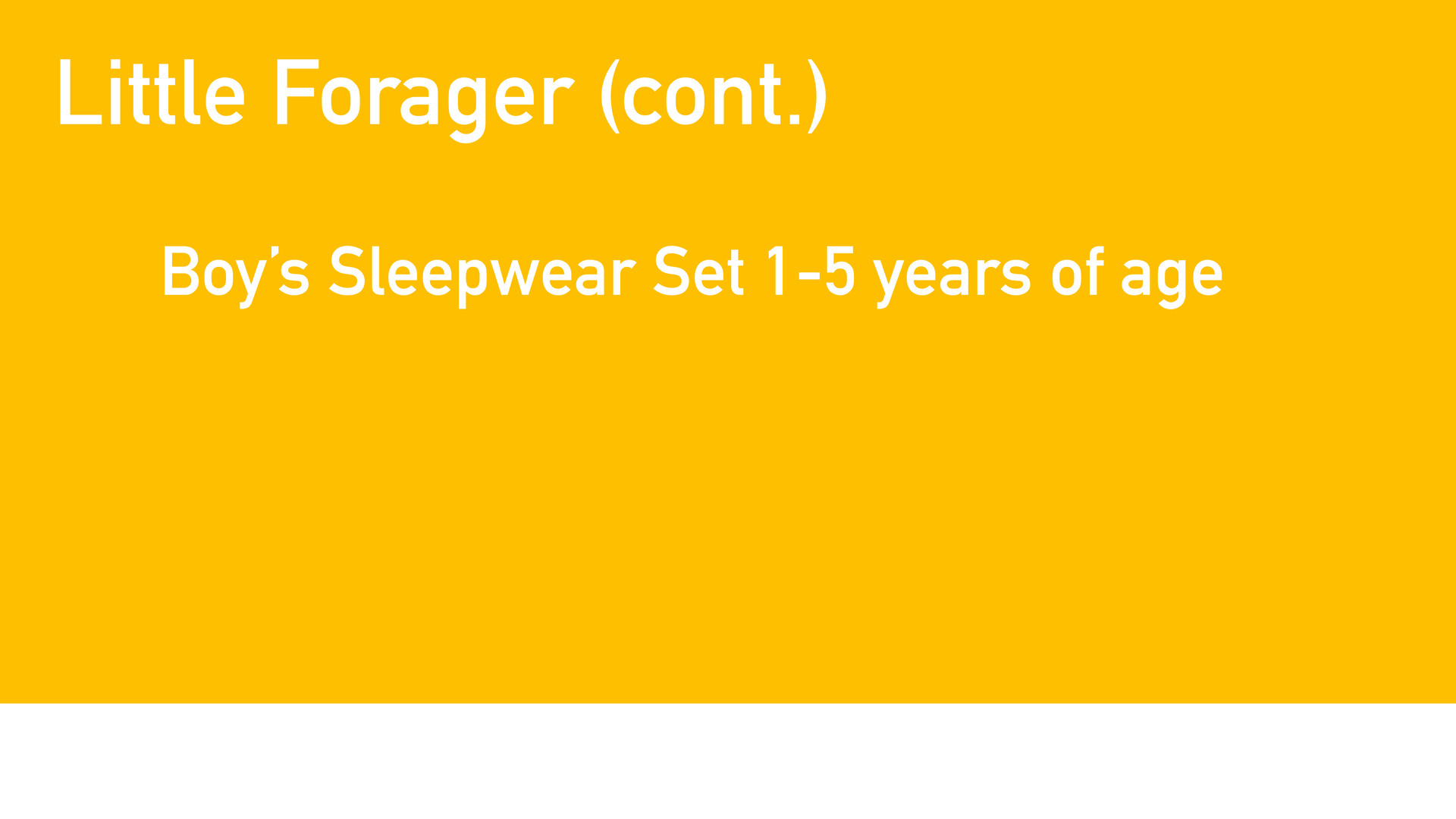 Boys Sleepwear set