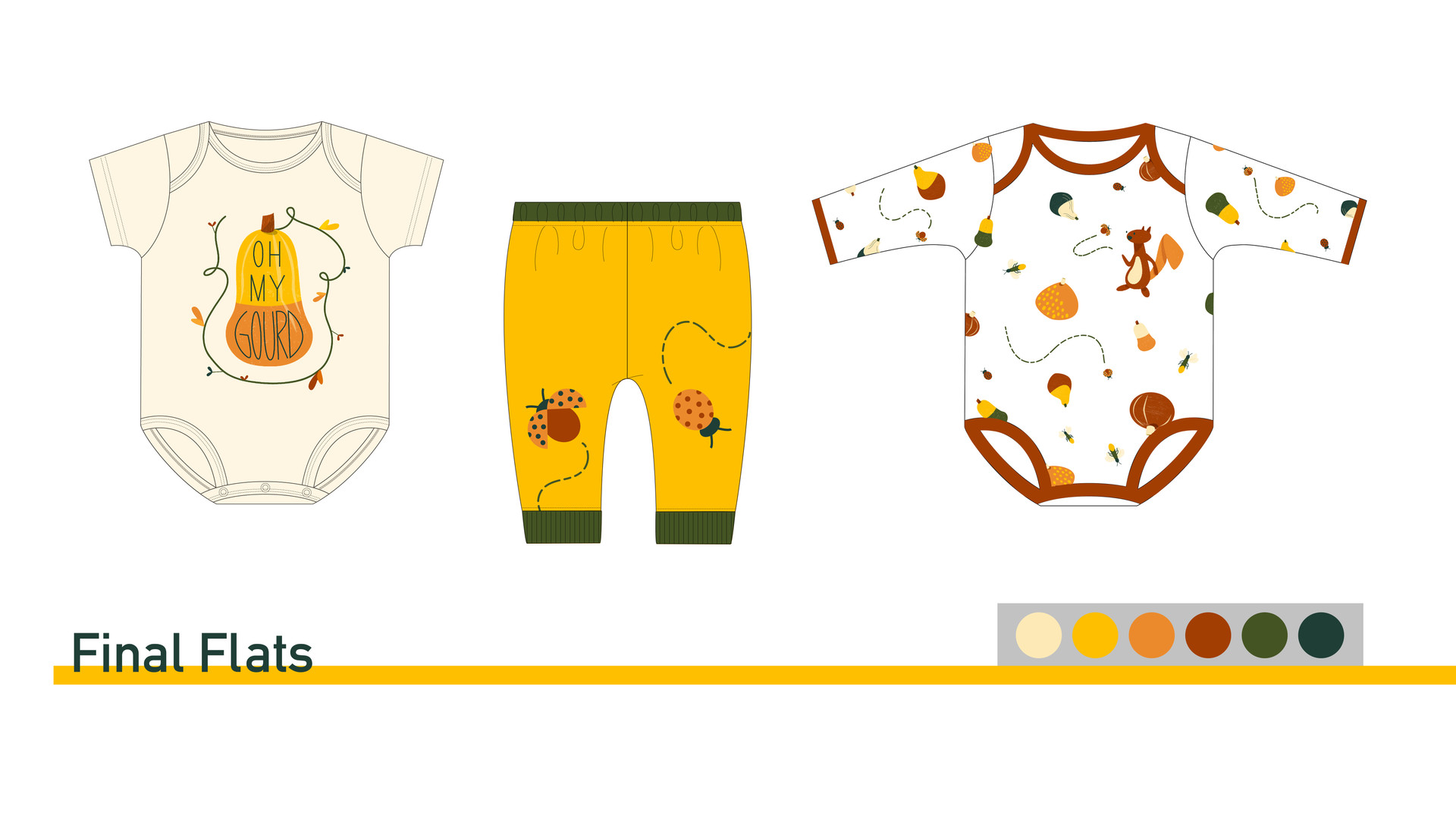 Final Flats for Baby Sleepwear