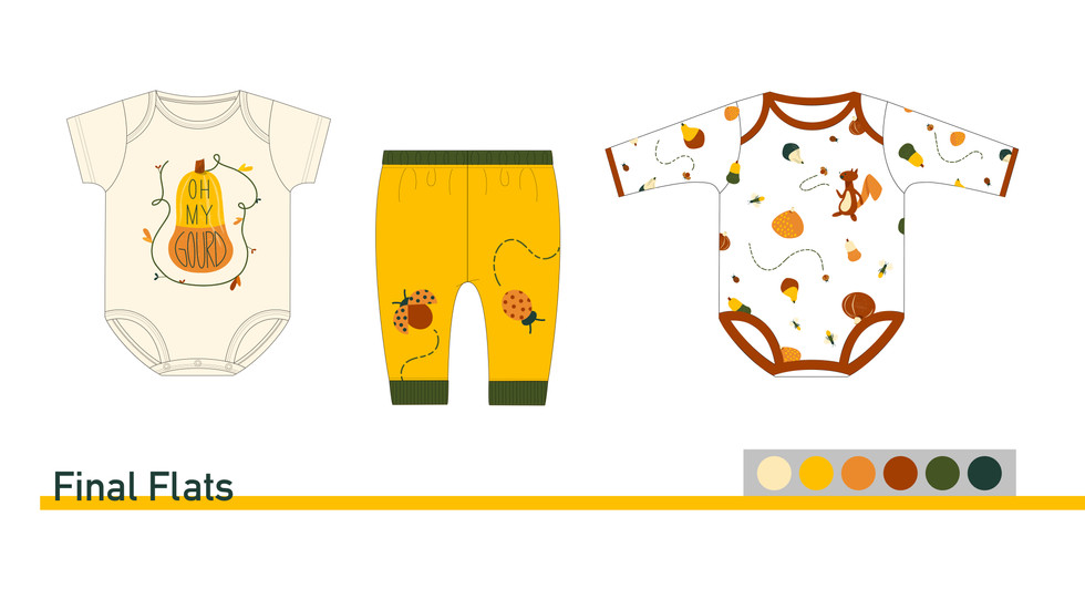 Final Flats for Baby Sleepwear