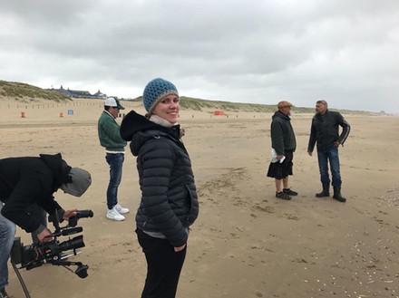 """Dreharbeiten, """"Mix up Art – Ocean Spezial"""", sky arts, mit einem Spitzenteam, und den Künstlern Adam Stubbley und Sea Shepard Aktivist Geert Vons"""