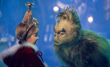 Holiday Grinch photos and your child