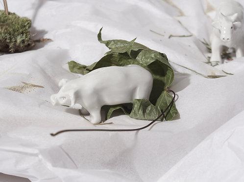 Porcelánová figurka prasátka