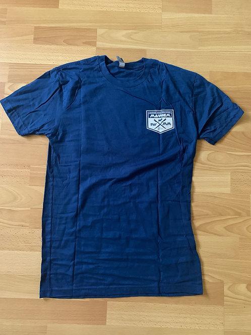 Blue Menehune Mayhem Shirts