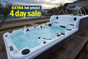 Swim Spa For Sale >> Sale Entertainer Swim Spa Spas Direct