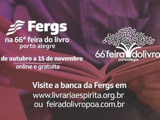 Fergs presente na 66ª Feira do Livro de Porto Alegre
