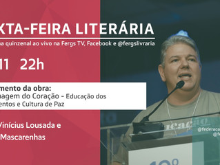 Lançamento A Linguagem do Coração na Sexta-feira Literária desta semana
