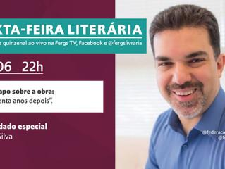 Sexta-Feira Literária contará com a presença de Saulo Cesar Silva