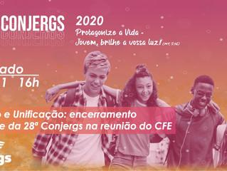28ª Conjergs encerra com ato solene em reunião do CFE e TV Conjergs Especial