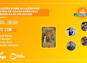 Fergs Editora lança obra Reflexões sobre as lições dos Mestres de Cidade Esperança