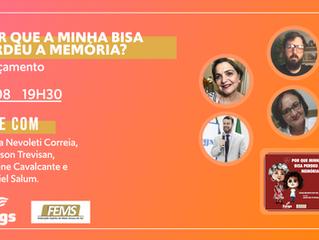 Fergs Editora lança obra infantil Por que minha bisa perdeu a memória?