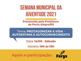 Fergs integra programação da Semana Municipal da Juventude de Porto Alegre