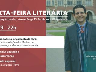 Sexta-feira Literária com José Luis Luvizetto Terra e sua obra