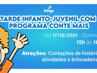 Programa Conte Mais Promove Tarde Infanto-Juvenil