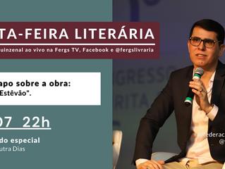 Haroldo Dutra Dias participará de bate-papo na Sexta-Feira Literária sobre a obra Paulo Estêvão