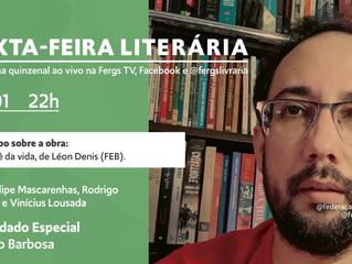 Sexta-feira Literária traz reflexões sobre a primeira obra de Léon Denis