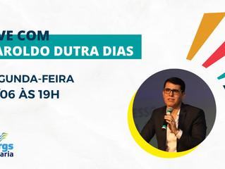 Fergs promove live com Haroldo Dutra Dias