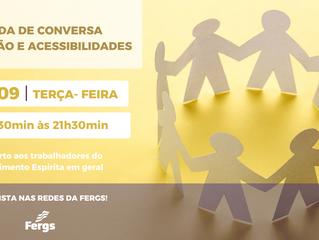 Fergs promove Roda de Conversa Inclusão e Acessibilidades