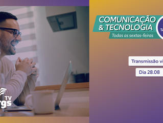 Comunicação & Tecnologia desta semana falará sobre Transmissão via Facebook