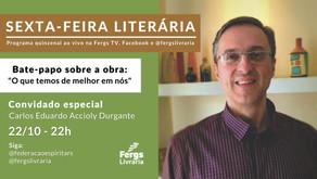 """Sexta-feira Literária promove reflexões sobre a obra """"O que temos de melhor em nós"""""""