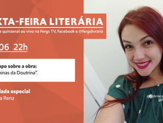 """""""As Meninas da Doutrina"""" será a obra tema da Sexta-Feira Literária desta semana"""