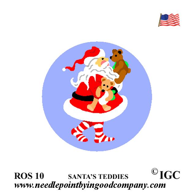 Santa's Teddies Round
