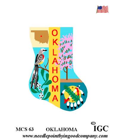 Oklahoma Mini Sock
