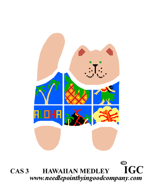 Hawaiian Medley Cat