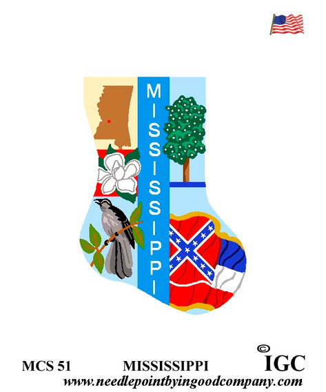 Mississippi Mini Sock