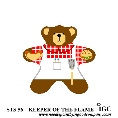 Keeper of the Flame Bear