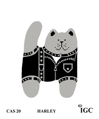 Harley Cat