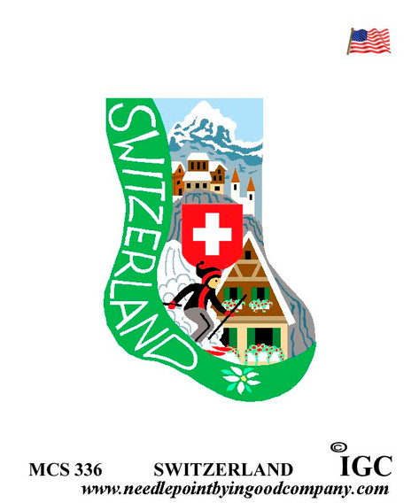 Switzerland mini sock
