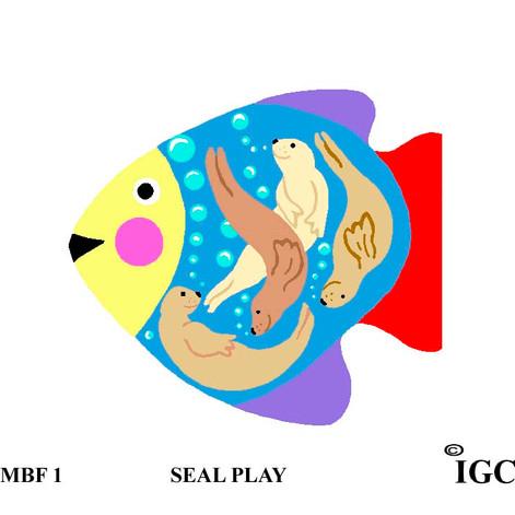 Seal Play Fish