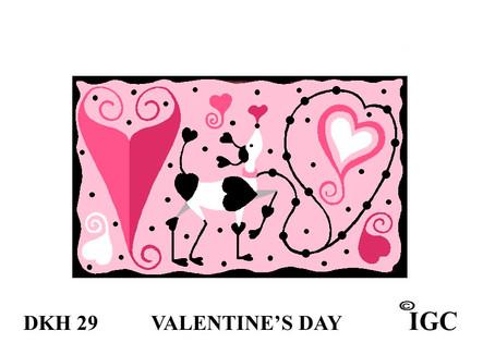 Valentines Day Doorknob Hanger