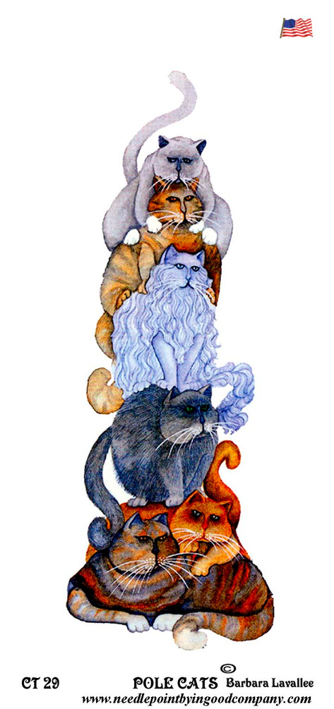 Pole Cats - Barbara Lavallee