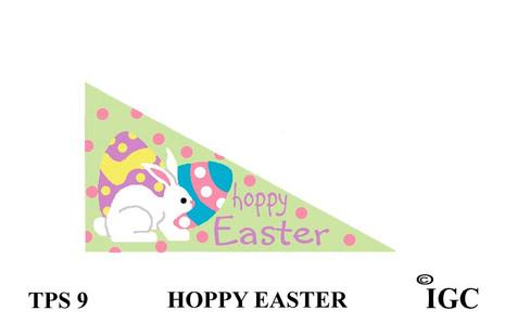Hoppy Easter Pennant