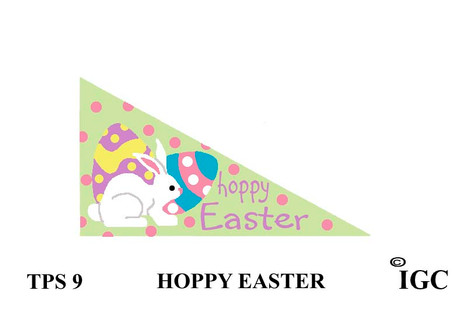 Hoppy Easter Pennant