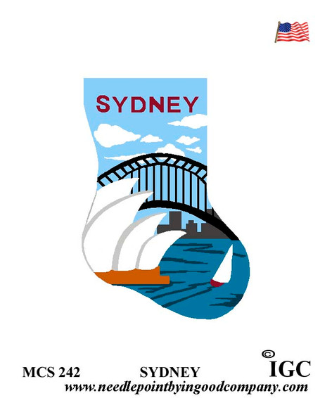 Sydney mini sock