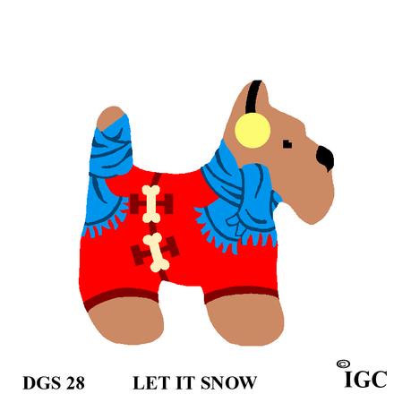 Let It Snow Dog