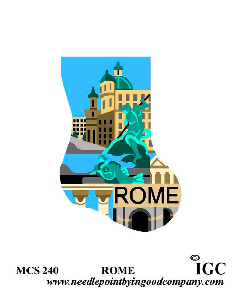 Rome mini sock