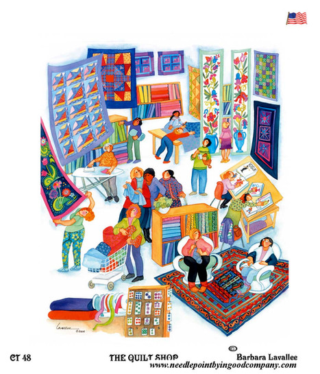 The Quilt Shop - Barbara Lavallee
