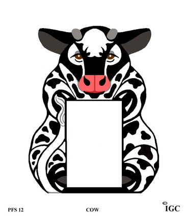 Cow Large Frame