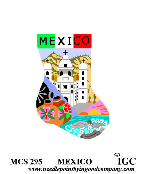Mexico mini sock