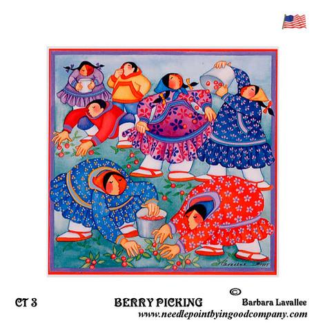 Berry Picking - Barbara Lavallee