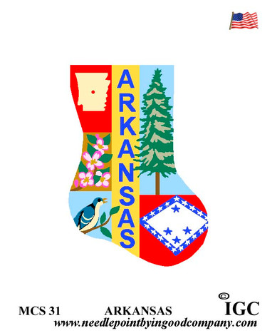 Arkansas Mini Sock