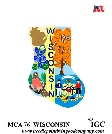 Wisconsin Mini Sock
